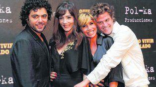 Quiero vivir a tu lado. Alberto Ajaka, Paola Krum, Florencia Peña y Mike Amigorena serán las estrellas de El Trece.