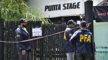 Boliche. Punta Stage, en Arroyo Seco, donde se hizo la trágica fiesta electrónica del 1º de enero pasado.