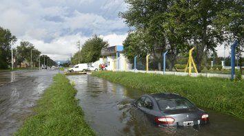 Efectos terribles. La lluvia de hace una semana fue un triste récord.