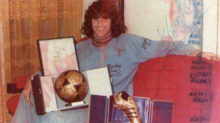 Mario Alberto Kempes, uno de los mejores delanteros que tuvo el fútbol argentino.