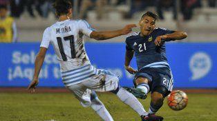 El delantero de Boca. Marcelo Torres marcó dos goles para el equipo argentino.