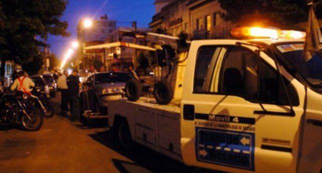 Se remitieron 34 vehículos particulares al corralón durante el fin de semana