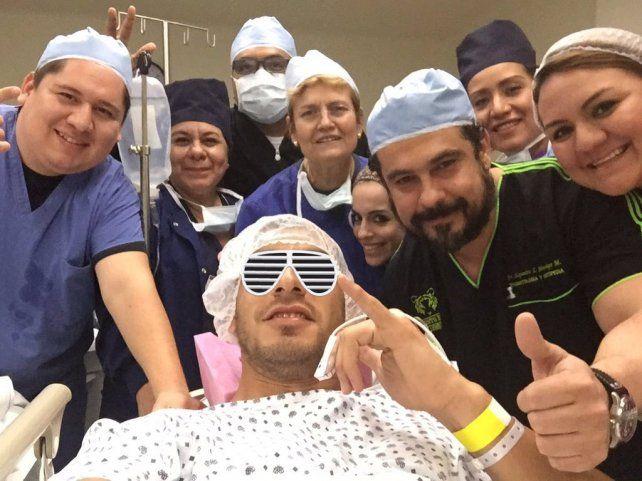El divertido agradecimiento del Patón Guzmán a los médicos que lo operaron de su lesión