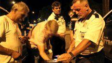 De los controles de detección del consumo de drogas en conductores de vehículos participan agentes de Tránsito y médicos del municipio, además de personal policial.