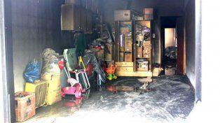 Un contador y su hija de dos años murieron en un incendio en la localidad de Rufino