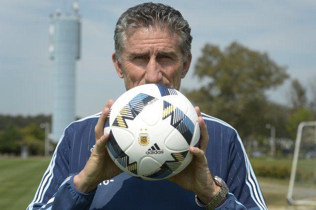 El director técnico de la selección nacional