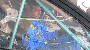 Alex Aqua. Nacho fue apresado el pasado 18 de diciembre en un auto de carrera