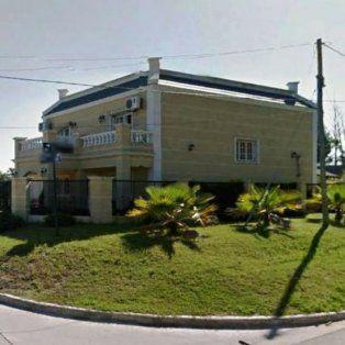 La casa ubicada en la Toma Vieja donde fue la fiesta.