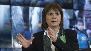 La ministra de Seguridad Patricia Bullrich celebró que se investigue el trasfondo de la escucha de Cristina y Oscar Parrilli.
