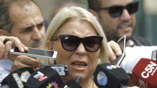 Elisá Carrió ratificó hoy ante la Justicia la denuncia sobre supuestas coimas al jefe de la AFI