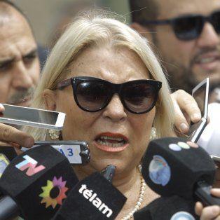 Elisá Carrió ratificó hoy ante la Justicia la denuncia sobre supuestas coimas al jefe de la AFI, Gustavo Arribas.
