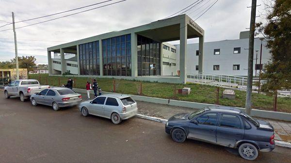 La víctima se encuentra internado en el hospital de Puerto Madryn.