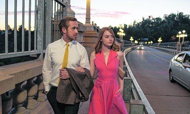 Estrellas. Ryan Gosling y Emma Stone son los protagonistas de La La Land