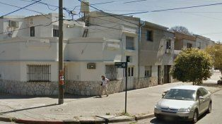 La vivienda de Entre Ríos 3640, donde hubo un intento de entradera que fue frustrado por un taxista.