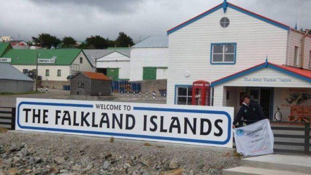 Kelpers le piden a Trump que también erija un muro en las Islas Malvinas