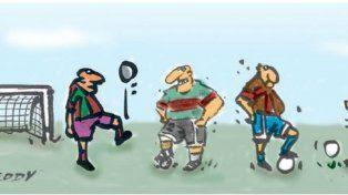 El equipo del rioba