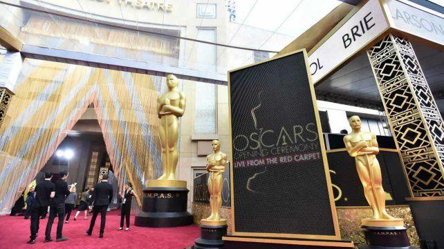 Todos listo para los Oscar.