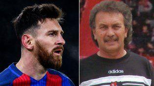 Leo Messi recordó a Ernesto Vecchio con un sentido mensaje en las redes sociales.