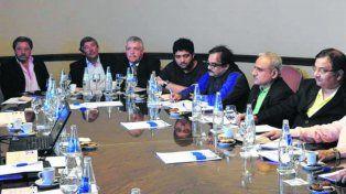 Delegación. Empresarios provenientes de la India estuvieron en la Bolsa rosarina.