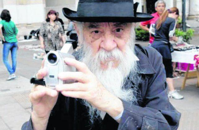 Fernando Birri. El realizador santafesino filmó ORG en Roma en los 70.