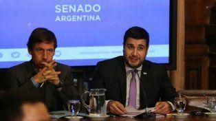 El senador Luis Naidenoff y el diputado Marcos Cleri encabezan el cuerpo bicameral que trata los DNU.