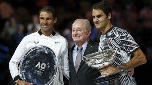 Nadal: Federer se merecía el título un poquito más que yo