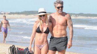 Rocío Guirao Díaz y Nicolás Paladini deslumbraron en sus vacaciones en Punta del Este