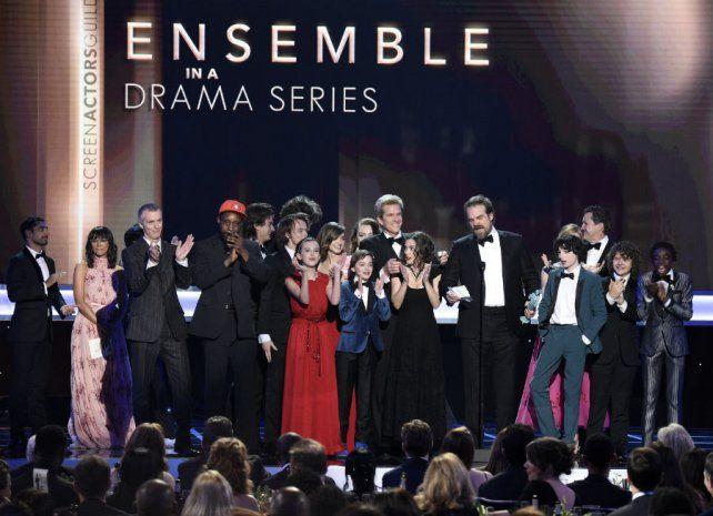 Con fuertes críticas a Trump, se entregaron los premios del Sindicato de Actores de Hollywood