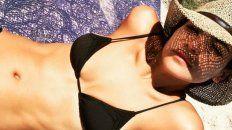 las fotos sensuales de agustina cherri de vacaciones en punta del este