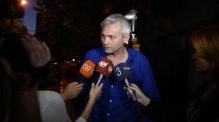 Carloni aseguró que la idea es hablar con el organismo de seguridad porque no queremos que se genere violencia.