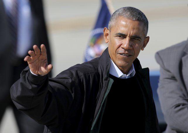 Obama celebró las expresiones de repudio contra el presidente Donald Trump.