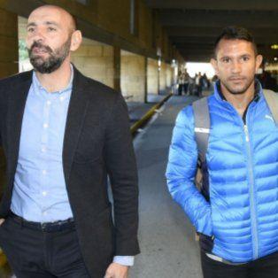 En Andalucía. El director deportivo Monchi Rodríguez recibió al chaqueño.