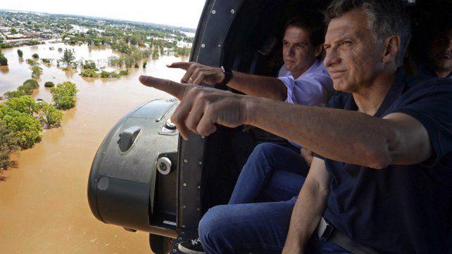El presidente Maurcio Macri visitará el jueves la capital provincial para entregar viviendas a las víctimas de las inundaciones.