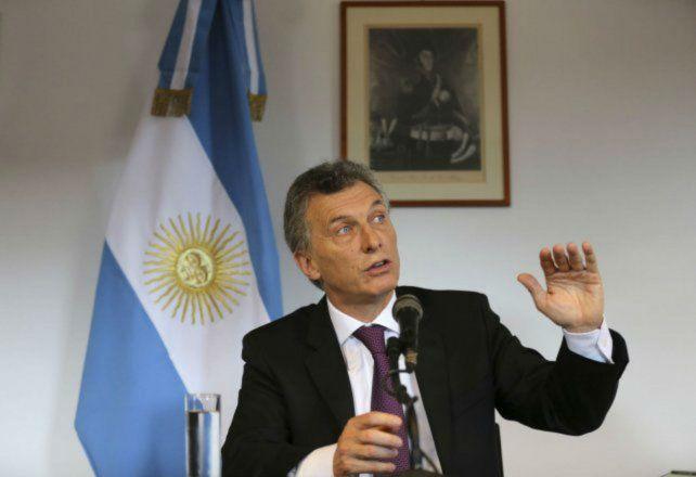 El presidente Macri ponderó el aumento de las tarifas.