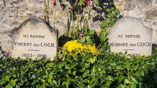 Las tumbas de Vincent y Theo Van Gogh.