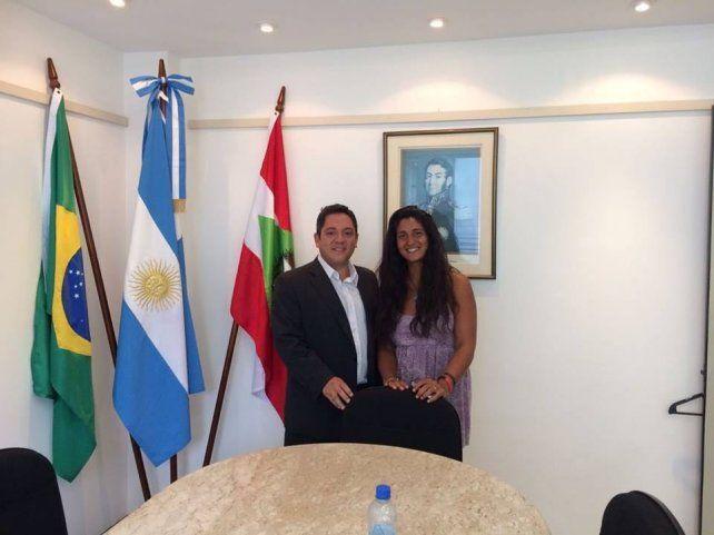 La foto de Vanina difundida por el consulado de Argentina en Florianópolis.