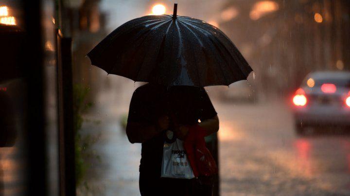Rosario con una jornada con tiempo inestable con tormentas que podrían llegar a ser fuertes.