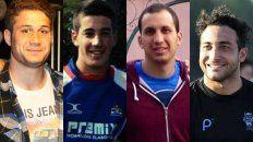 Los acusados son Lisandro Biffi y Sebastián Vanin, hijo y sobrino de un legislador radical, Ignacio Ceschín, y Enzo Falaschi.