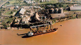Hubo un segundo derrame en las aguas del río Paraná a la altura de Puerto San Martín