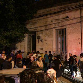 escandalo en galvez por un violento ataque a concejales en plena sesion