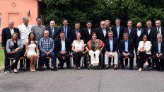 En Olivos. Los gobernadores ya se habían encontrado en la quinta presidencial en los primeros días del gobierno de Mauricio Macri.