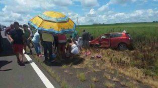 Socorro. El accidente ocurrió en la ruta BR 290 pasando por Alegrete.