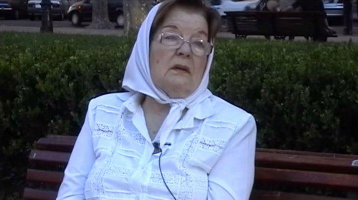 Falleció Matilde Chocha Toniolli, integrante de Madres de la Plaza 25 de Mayo de Rosario
