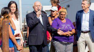 El gobernador participó del acto de entrega de viviendas en el barrio Nueva Esperanza, de Santa Fe.