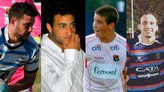 Los cuatro jugadores de rugby imputados por abusar sexualmente de una joven.