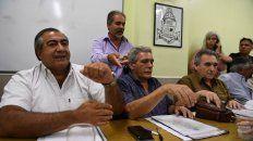 La comisión tripartita de la central obrera anunció medidas de fuerza.