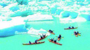Por dos. Kayak dobles y toda la pasión aventurera.