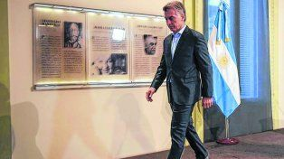 Sin vueltas. El presidente Macri dijo que el fútbol debe reorganizarse para salir de la crisis terminal que atraviesa.