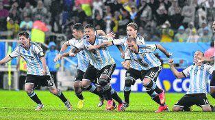 Maxi lo hizo. Argentina derrota por penales a Holanda en el Arena Corinthians de San Pablo y se clasifica para la final del Mundial de Brasil.