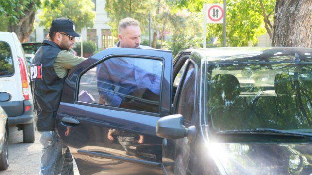 Acusado. Marcos Cella se entregó voluntariamente. Por decisión del ministro Pullaro fue alojado en Piñero.